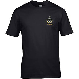 Royal Sussex Regiment Veteran - Licensed British Army Embroidered Premium T-Shirt