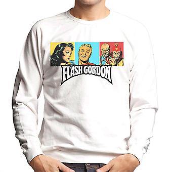 Flash Gordon Trio Portrait Logo Men's Sweatshirt