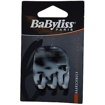 Babyliss Jaw Clip Medium Grey Leopard Print