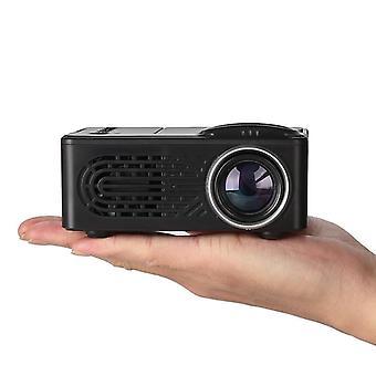 Mini projector lcd led portable projector-black au plug