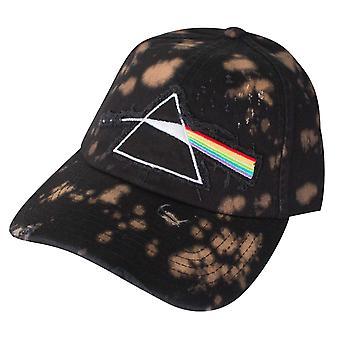 Pink Floyd Bleached Dark Side Of The Moon Hat