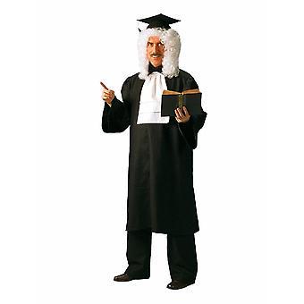 Costume del giudice uomo Avvocato Portavoce Procuratore Uomo Costume