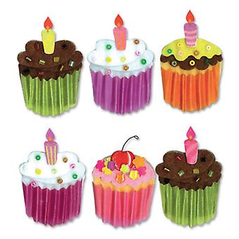 Jolee's Boutique Dimensional Stickers Cupcakes Spjb 329