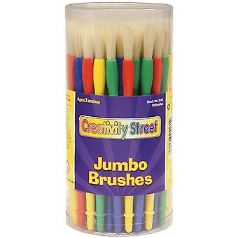 Jumbo Paint Brush Canister 58 Pkg 5161