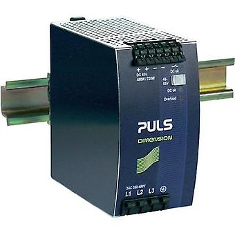 Rail mounted PSU (DIN) PULS DIMENSION QT20.481 48 Vdc 10 A 480 W 1 x