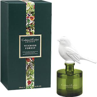 Crabtree & Evelyn Windsor Forest porselein geur Diffuser