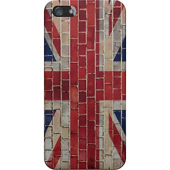 Cover Uk flag bricks for iPhone 5S/SE