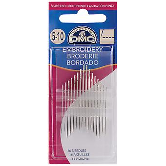 Embroidery Hand Needles-Size 5/10 16/Pkg 1765-5/10