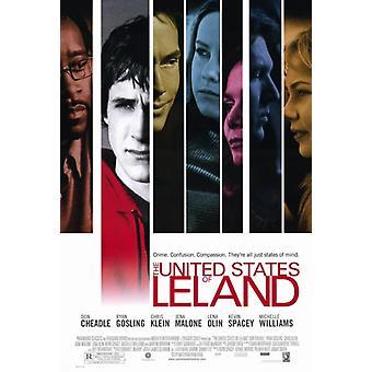 Соединенные Штаты плакат фильма Лиланд (11 x 17)