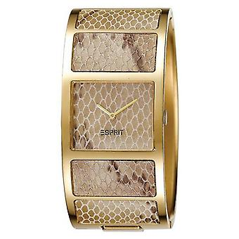 ESPRIT ladies watch bracelet Bangle watch snake gold ES103102003