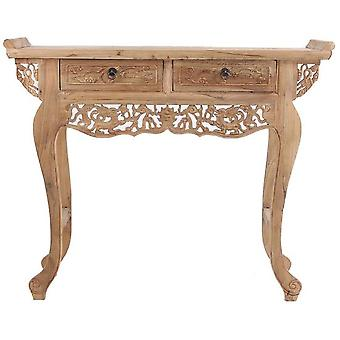 Wellindal Oriental style natural finish console