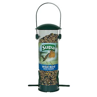 Supa Plastic 2 Port Seed Feeder Green 20cm (8
