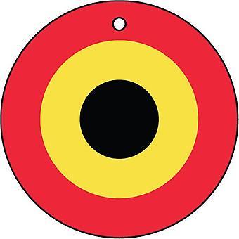 Belgische Luftwaffe Roundel Auto-Lufterfrischer