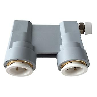 Reusable Central Heating Water System Quick Test Pressure Check Connector