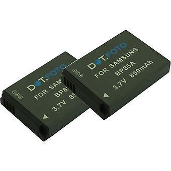 2 x Dot.Foto Samsung BP85A udskiftningsbatteri - 3.7V / 850mAh