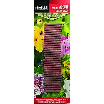 Batlle Clavos Fertilizantes Orquídeas (Garden , Gardening , Substratums and fertilizers)