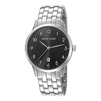 Pierre Cardin mens watch wristwatch stainless steel PC106671F06