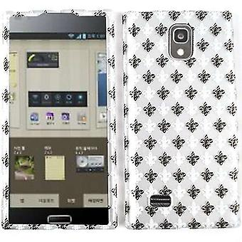 Unlimited Cellular Snap-On Case for LG Spectrum 2 VS930 - Trans. Design, Black &