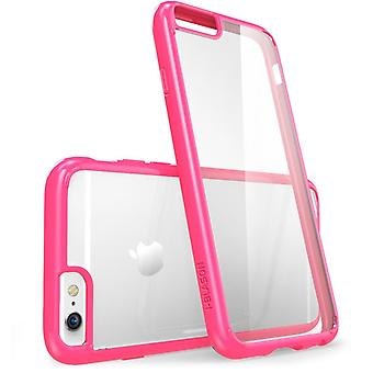 iPhone 6s Plus Case, Scratch Resistant,  i-Blason Clear Halo for Apple iPhone 6 Plus Case 5.5 Inch Cover- Clear/Pink