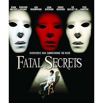 Fatal Secrets [Blu-ray] USA import