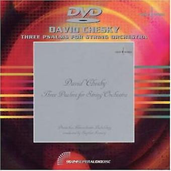 David Chesky - David Chesky: Tre salmer for strykeorkester [DVD Audio] [DVD] USA import
