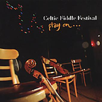 Celtic Fiddle Festival - Play on [CD] USA import
