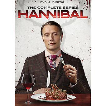 Hannibal: O coleção completa da série [DVD] EUA importar
