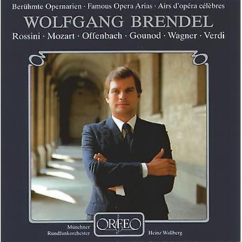 Wolfgang Brendel - berömda Opera arior [CD] USA import
