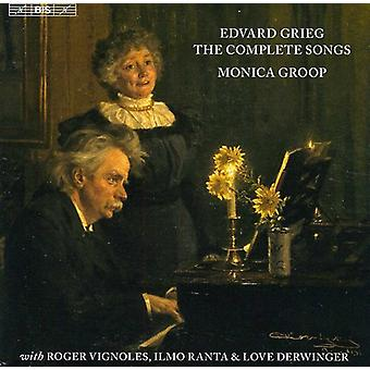Monica Groop - Edvard Grieg: The Complete Songs [CD] USA import