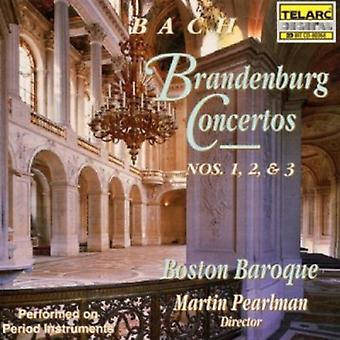 Boston Baroque - Bach: Brandenburg Concertos nr 1, 2 & 3 [CD] USA import