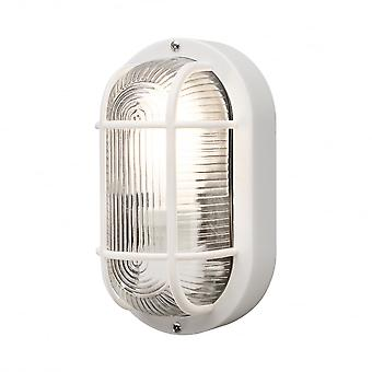 Konstsmide Elmas Wall Light White Plastic