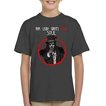 Papa Legba Wants Your Soul American Horror Story Coven Kid's T-Shirt