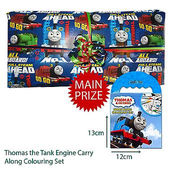 Pass the Parcel Ready Made Party Game - Thomas the Tank Engine Option 2