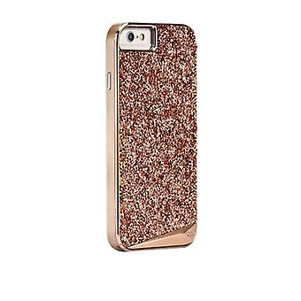 Case-Mate Brilliance Case for Apple iPhone 6 Plus/6s Plus - Rose Gold