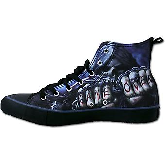 Spiral - GAME OVER - Sneakers - Men's High Top Laceup