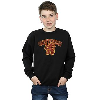 Harry Potter Boys Gryffindor Sport Emblem Sweatshirt