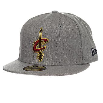 New Era and NBA Heather Fitted Cap ~ Cleveland Cavaliers