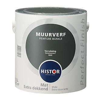 Histor Perfect Finish muurverf mat verruiming 6925 2,5 l