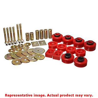 Energy Suspension Body Mount Set 4.4114R Red Fits:FORD 1997 - 1998 F-150  Exten