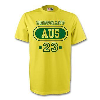 Harry Kewell Australia Aus camiseta (amarillo) - niños