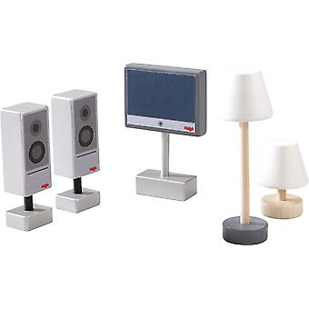 Haba-Little Friends-Tv And Lamps