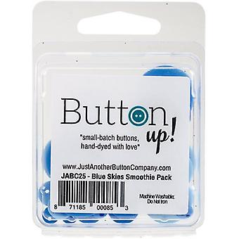 Button Up! Smoothie Pack Buttons-Blue Skies JABC25-12