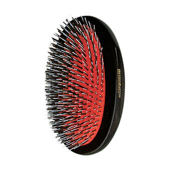 Mason Pearson BN1M Popular Bristle and Nylon Military Brush