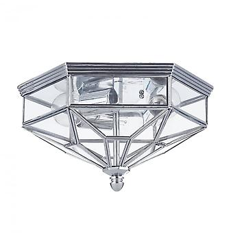 Maytoni Lighting Zeil House Collection Ceiling Lamp, Chrome