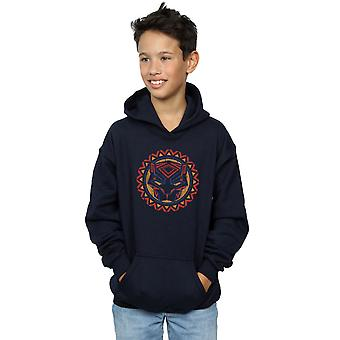 Marvel Boys Black Panther Tribal Panther Icon Hoodie