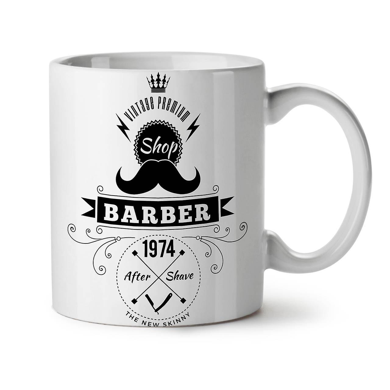 Blanc Tasse Café OzWellcoda Shop Thé 11 Barber Céramique Nouveau D9YWEHI2