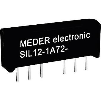 Reed relay 1 maker 12 Vdc 0.5 A 10 W SIL 4