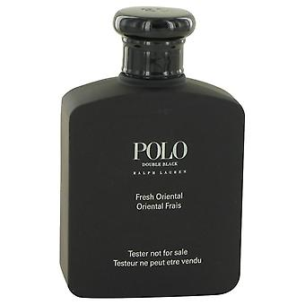 Polo Double Black Eau De Toilette Spray (Tester) By Ralph Lauren