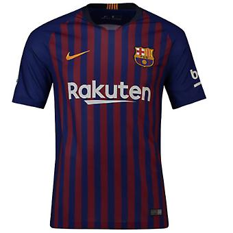 2018-2019 Barcelona Home Nike Football Shirt