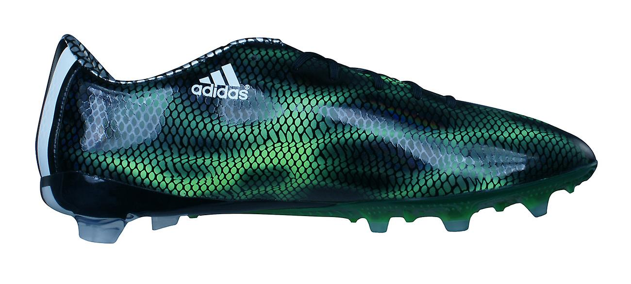 adidas Football Boots F30 FG Mens Firm Ground Cleats - Black and Green